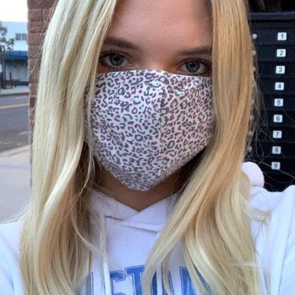 Accessories - Cheetah Print Mask